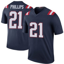 Nike Adrian Phillips New England Patriots Youth Legend Navy Color Rush Jersey