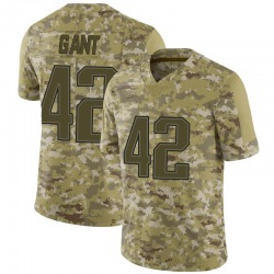 Nike Malik Gant New England Patriots Youth Limited Camo 2018 Salute to Service Jersey