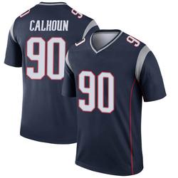 Nike Shilique Calhoun New England Patriots Men's Legend Navy Jersey