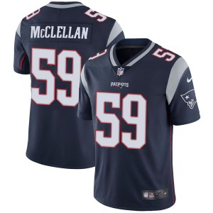 Nike Albert McClellan New England Patriots Youth Limited Navy Team Color Vapor Untouchable Jersey