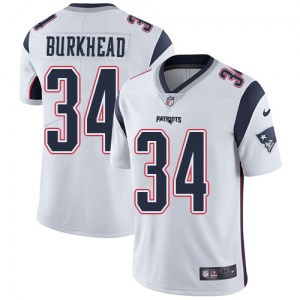 Nike Rex Burkhead New England Patriots Youth Limited White Jersey